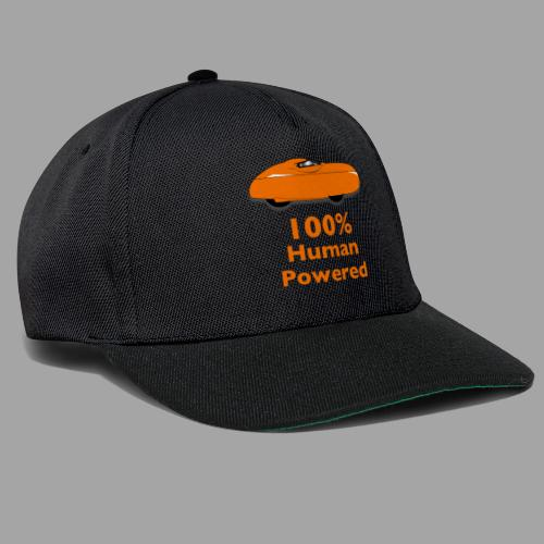 100% human powered - Snapback Cap