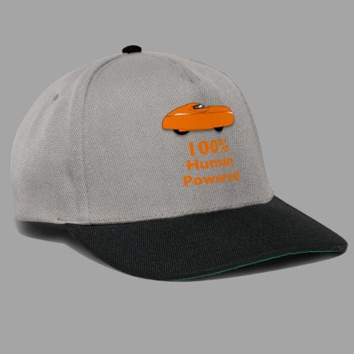 100% human powered - Snapback Cap