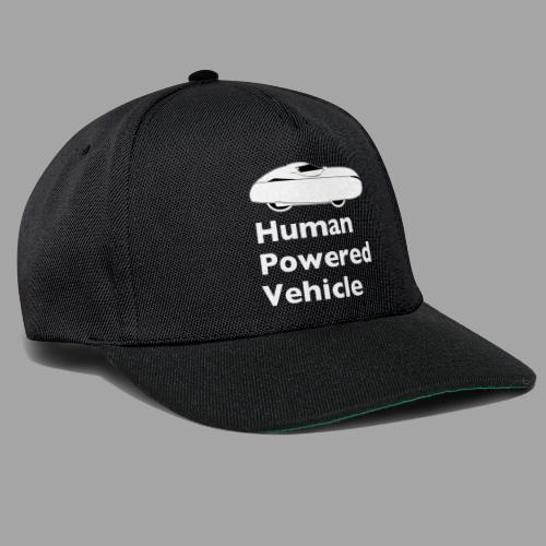 Quest Human Powered Vehicle 2 white - Snapback Cap