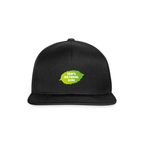 100% natural girl - Snapback Cap