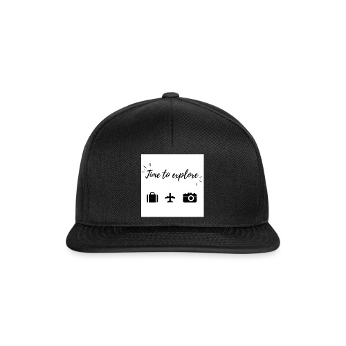 Time to explore - Snapback Cap