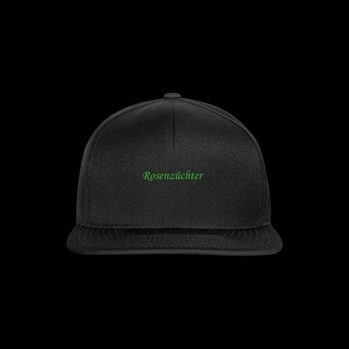 Rosenzuechter gruen - Snapback Cap