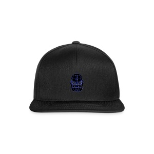 spacemask blue - Snapback cap