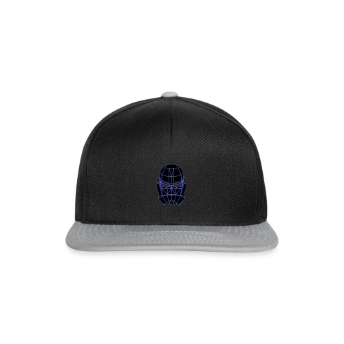 spacemask blue - Snapback cap