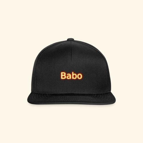 Babo - Snapback Cap