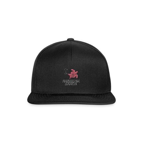 I Love American Samoa - Snapback Cap