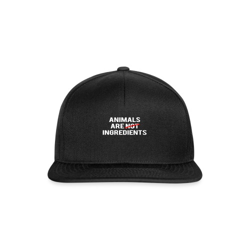 Animals Are Ingredients - Snapback Cap