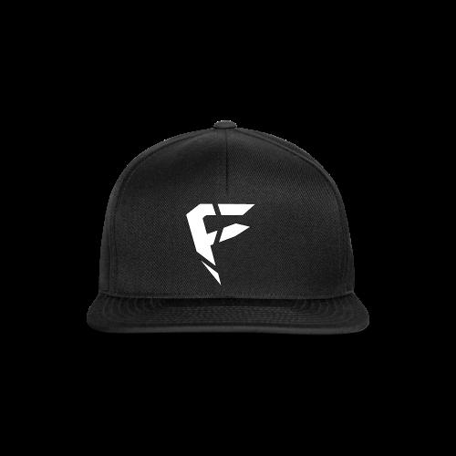 F Logo in Weiß - Snapback Cap