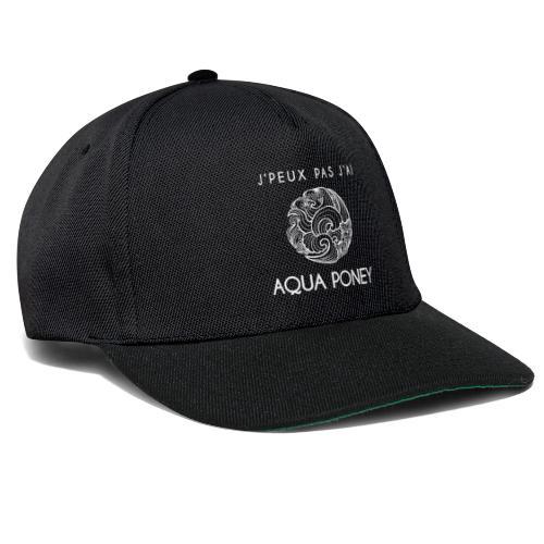 Aqua poney - Casquette snapback