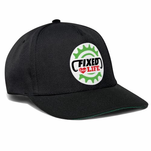 fixed love life - Snapback Cap