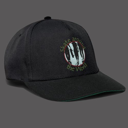 Skate around the World - Snapback Cap