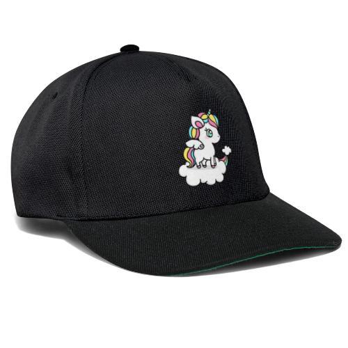 Einhorn-Be u - Snapback Cap