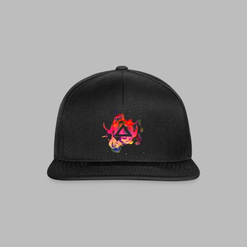 APlays Abstract Explosion Design - Snapback Cap