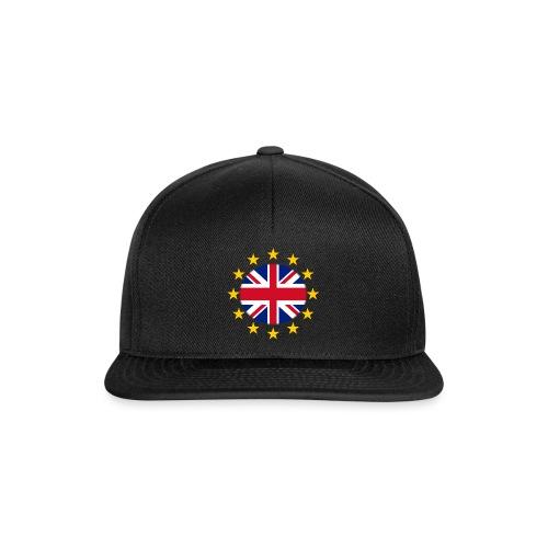 EU stars with Union flag - Snapback Cap