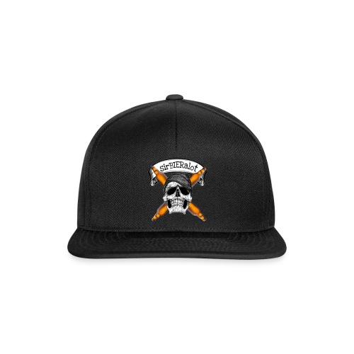 sirBIERalot - Snapback Cap