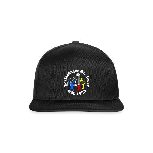 Logo Gif weiss farbig 400dpi 2000px - Snapback Cap