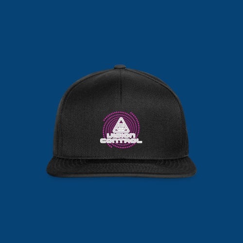 Vision Control Basic Logo Grey Pink Pattern - Snapback Cap