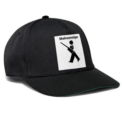Stehvermoegen neu - Snapback Cap