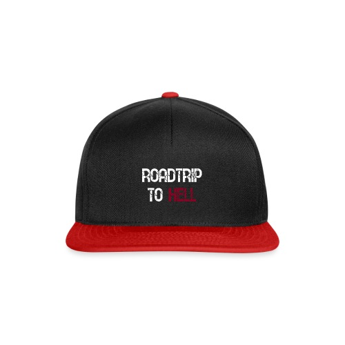 Roadtrip To Hell - Snapback Cap