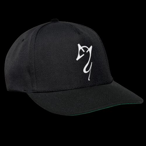 Overscoped logo White - Snapback Cap