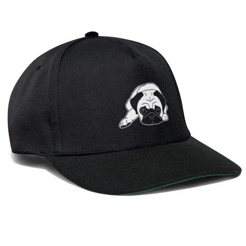 Mops, Hund, Hunderasse, Geschenkidee, süß, Comic - Snapback Cap
