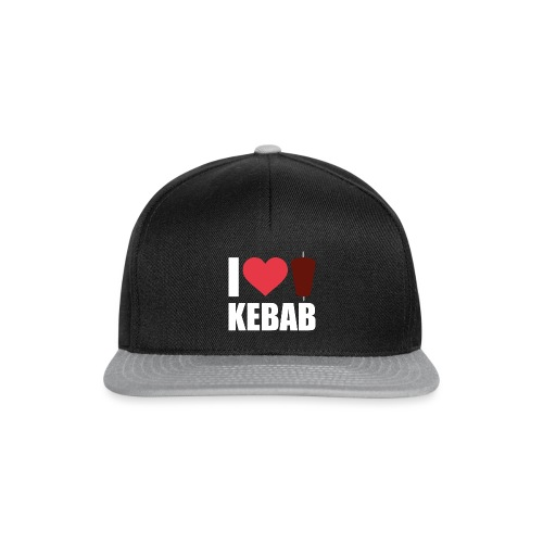I love Kebab - Snapback Cap