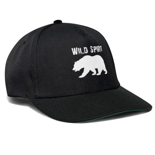 Wild Spirit - Bear - Snapback cap