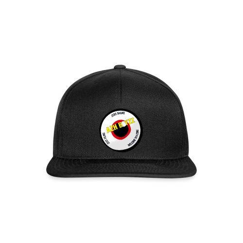 A&B • Eyeball with slogan (1 print: front) - Snapback Cap