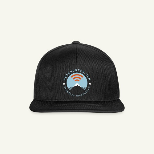 Peakhunter Globales Gipfelbuch - Snapback Cap