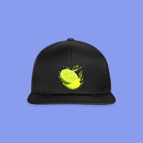 lime png - Snapback Cap