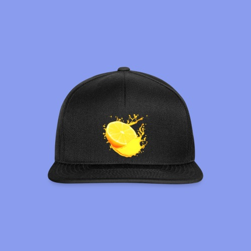 orange png - Snapback Cap