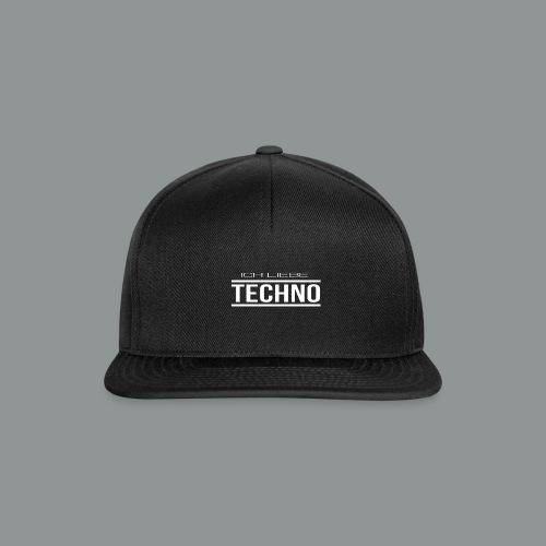 klein ILT weiß - Snapback Cap