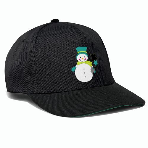 Snowtime-Green - Snapback Cap