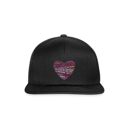 Hjerte - Snapback Cap