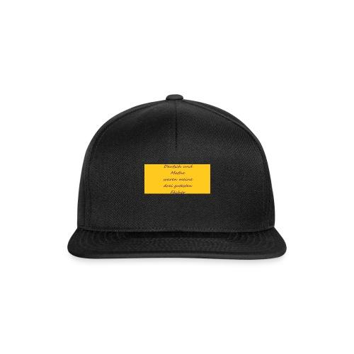 Deutsch und Mathe - Snapback Cap