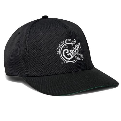 50 years of being groovy Geburtstag Vintage Gift - Snapback Cap
