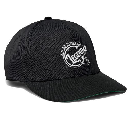 50 Jahre Legendär 50. Geburtstag Vintage Gift - Snapback Cap