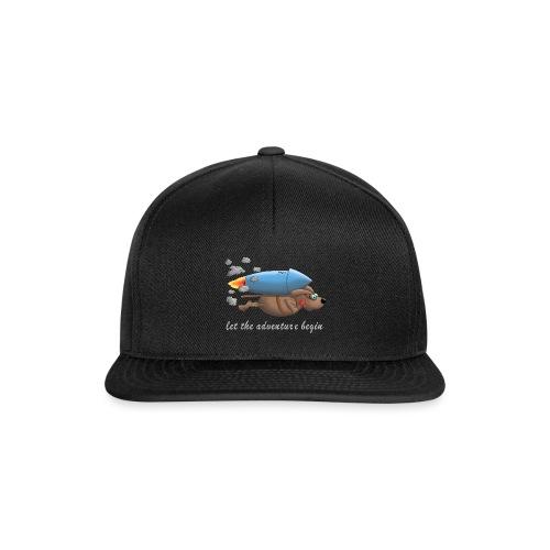 Let the adventure begin - hot dog - Snapback Cap