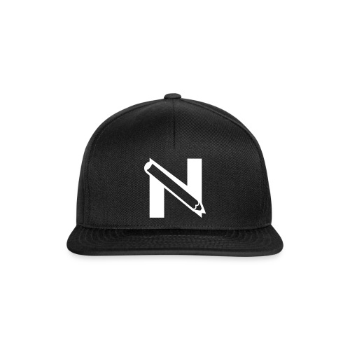 n pencill white png - Snapback Cap
