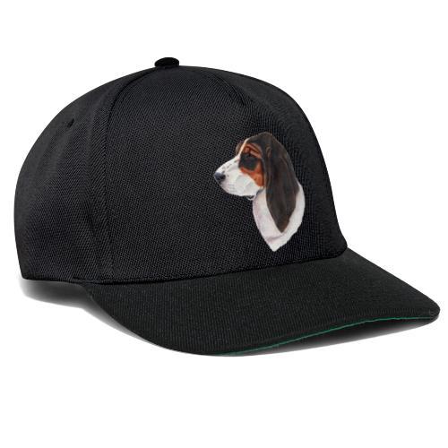 bassethound color - Snapback Cap