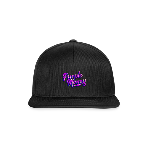 PurpleMoney Retro Logo - Snapback Cap