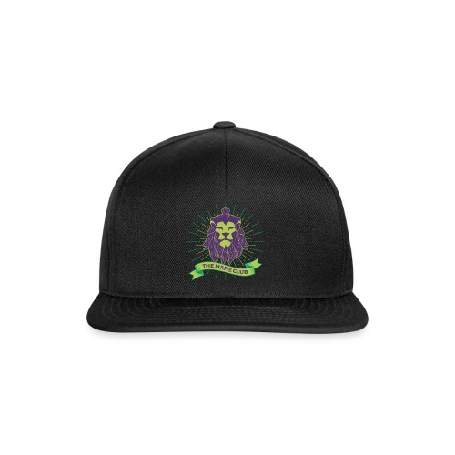 Man / Mane Club - Mann / Mähne Club Green Purple - Snapback Cap