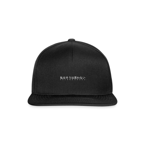 smn original - Snapback Cap
