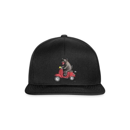 Hyäne - cooler Roller Fahrer - Snapback Cap