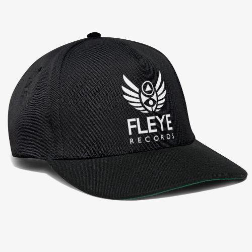 Fleye Records (White Logo Design) Tøj m.m. - Snapback Cap
