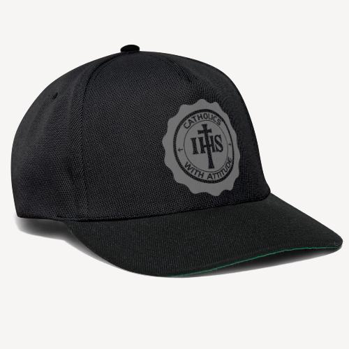 CATHOLICS WITH ATTITUDE CAP - Snapback Cap