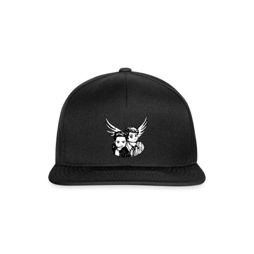 Destiel i sort/hvid - Snapback Cap