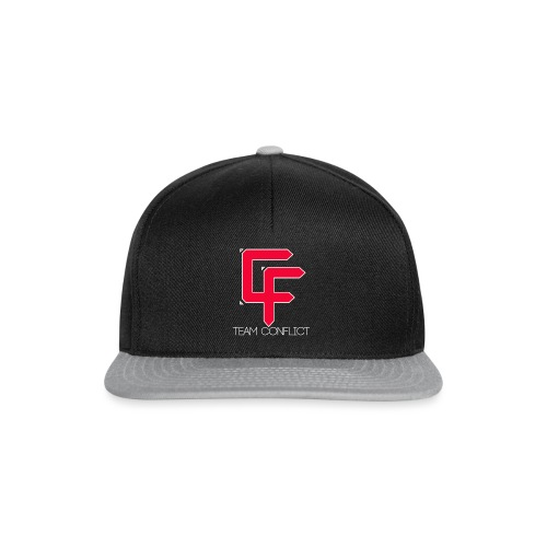 CF Final White Border t shirts with text thin whit - Snapback Cap