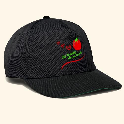 Tomates de mi huerto - Gorra Snapback