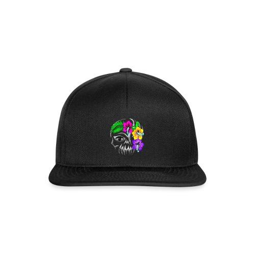 Alien Flower Skull - Snapback Cap